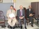 از راست دکتر خانگلدی، دکتر مریدی، اکبر مجیداف
