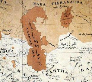 نقشه توجیهی تجزیه ترکمنصحرا