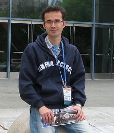 امید کوکبی، دانشجوی فوق دکترا