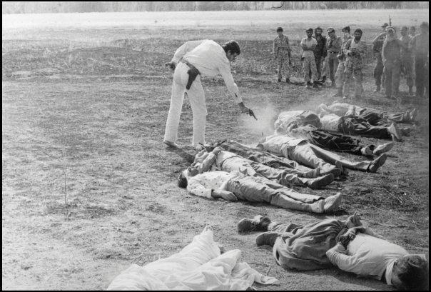 اعدامهای دسته جمعی در سراسر کشور بویژه در کردستان و ترکمنصحرا