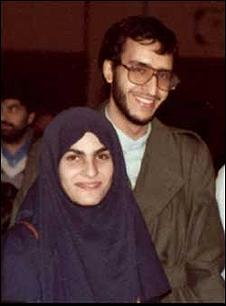 سعید امامی و همسرش
