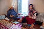 Needleworking turkmen ladies pajamas