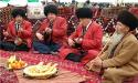 باغشی نوازندگان تورکمن در عید قوربان