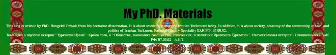My PhD Materials, Dr. Ownuk H.