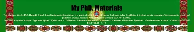 My PhD Materials-Dr. Ownuk, Hangeldi