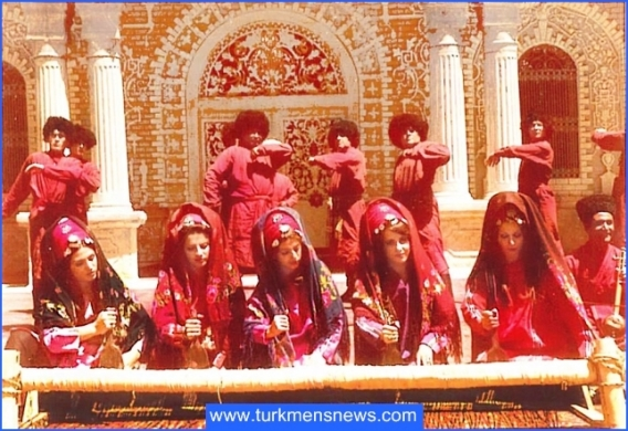 زنان و مردان ترکمن