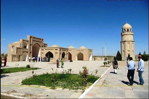 بقعه خوجه یوسف همدانی در شهر مرو جمهوری ترکمنستان