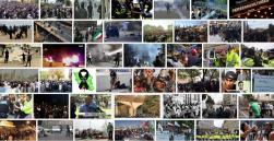 تظاهرات و درگیری در ایران