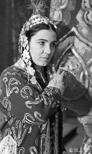 هنرمند مردمی ترکمن مایا قلیوا